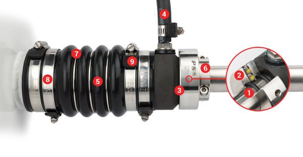 PSS Pro akselitiiviste D90mm vannasputki D 171