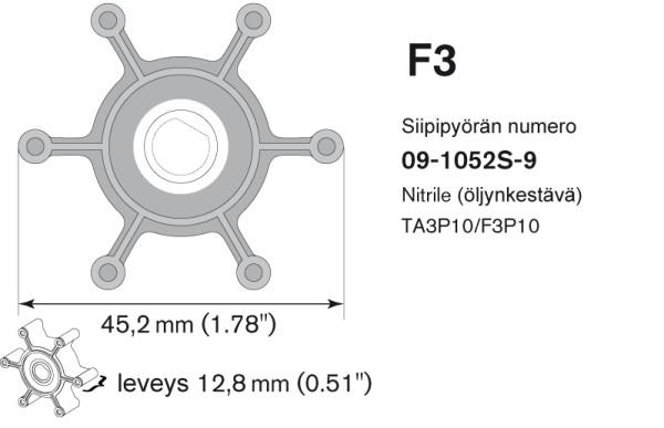 Siipipyörä F3B/TA3P10