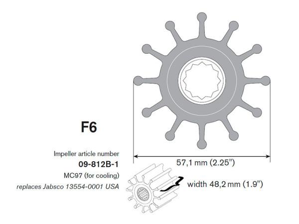 09-812B-1 Siipipyörä F6B-9