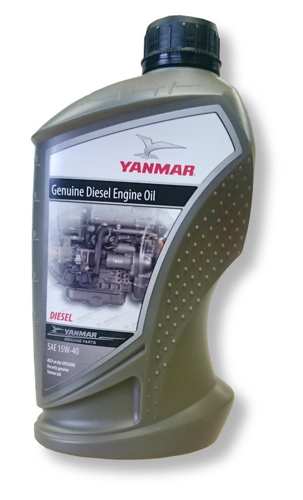 Yanmar 15W40 moottoriöljy 1 litra