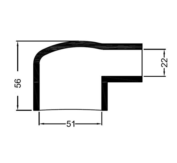 2680 Bowman lammonv. kumipääty 50 mm/22 mm