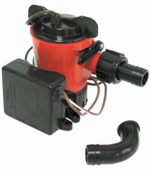 Pilssipumppu L550 12V automaattikatkaisijalla Johnson