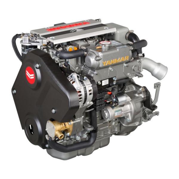 40 hp/29,4 kW Yanmar 3JH40 KM35P 2.36:1