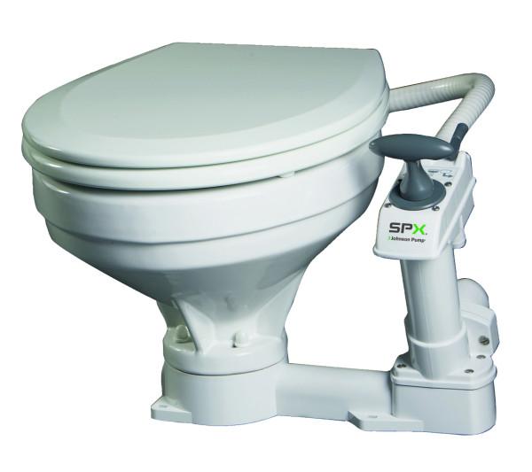 Compact WC käymälä käsipumpulla Jonson
