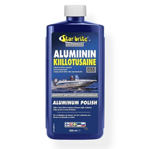 Alumiinin kiillotusaine 500 ml.