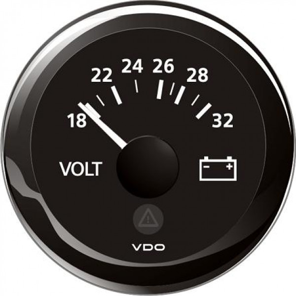 VDO Volttimittari 18-32 V Ø 52mm