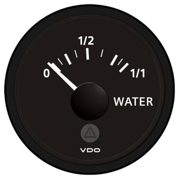 VDO Vesitankkimittari Ø52mm, puikkoanturille