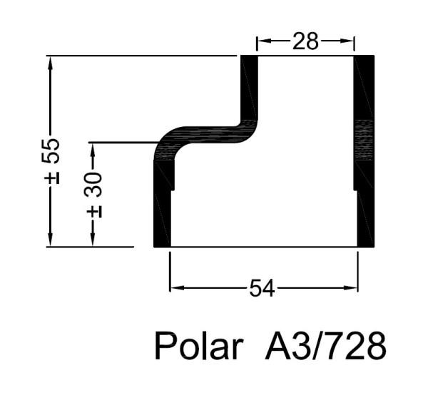 A3/728 Kumipaaty Polar lämmönvaihtimeen