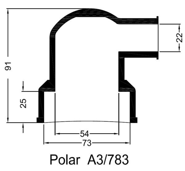 A3/783 Kumipaaty Polar lämmönvaihtimeen