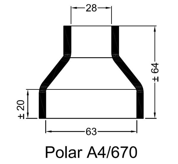 A4/670 Kumipaaty Polar lämmönvaihtimeen