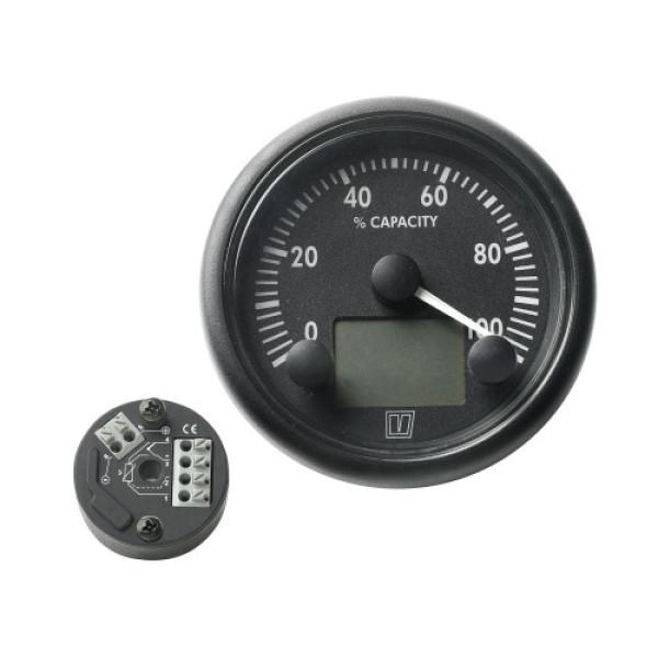 Kulutusmittari 12/24 V DC, max 200 A, shuntilla.