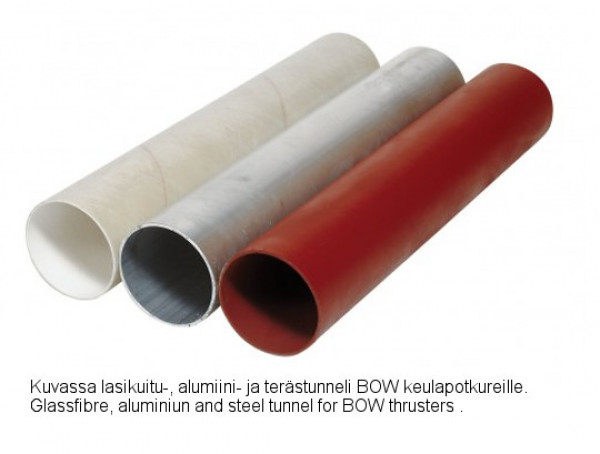 Lasikuitutunneli BOW2512 Ø 110x750 mm
