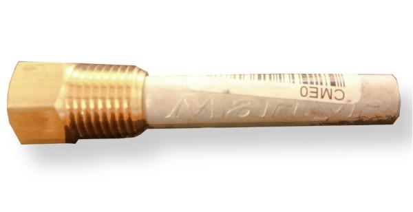 Sinkkianodi, Ø10 mm, L=45 mm NPT¼