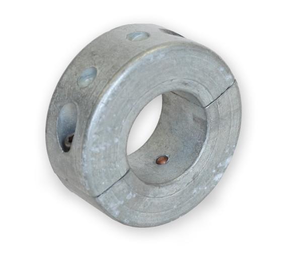 Rengasanodi Zn akseli kapea 40 mm, H=33 mm