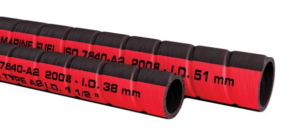 Polttoaineen täyttöletku Ø 38 mm (rll 20m, hinta/m