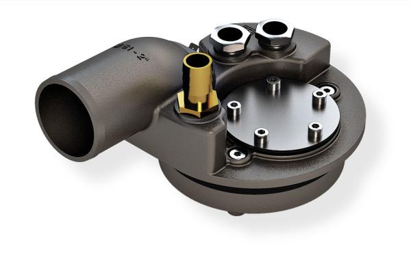 Polttoainetankin liitäntäsarja, syöttö 38 mm, imu/