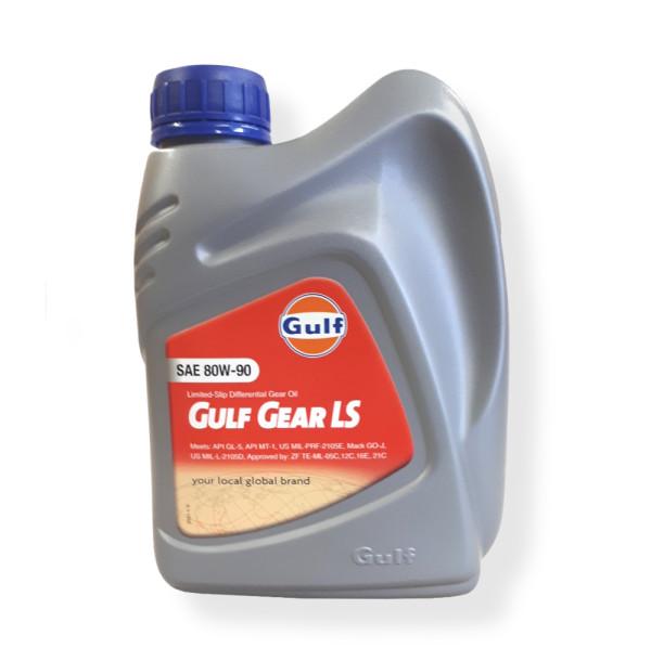 Öljy 80W90 1L GULFGEAR LS (1 ltr)