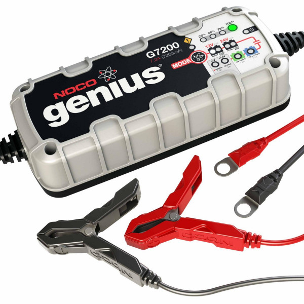 Genius G7200 ylläpitolaturi 12/24 V