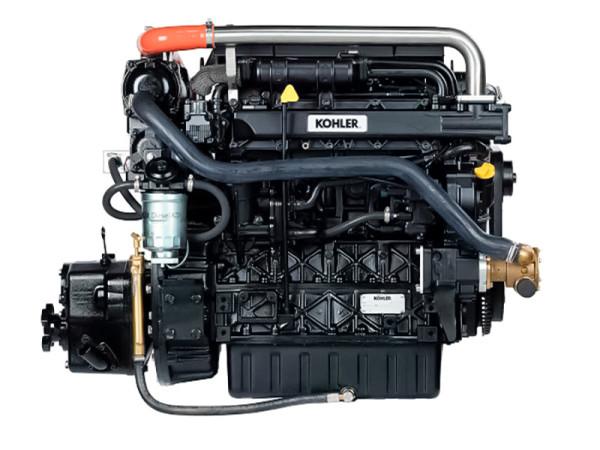 74 hp @2600 rpm Lombardini Kohler meridiesel TMC260 vaihteella 2:1