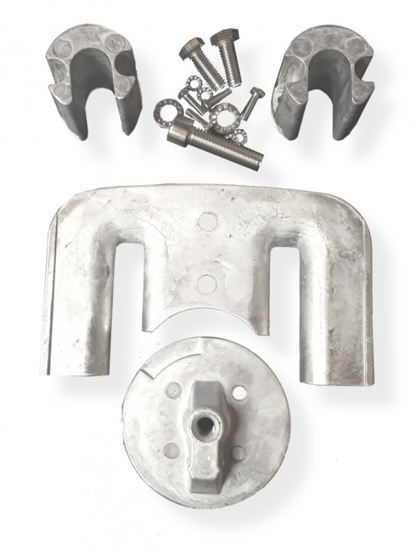 Alumiinianodisarja Bravo II - III