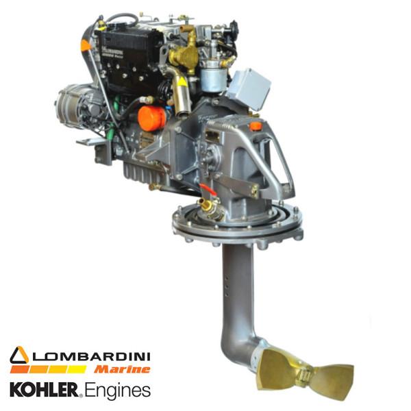 27 hp/19,5 kW Lombardini Sail Drive 2.18:1 LDW1003SD venediesel