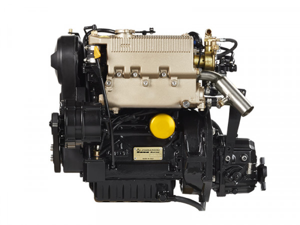 27 hp/19,5 kW Lombardini moottori TMC40 2.6:1 LDW1003M