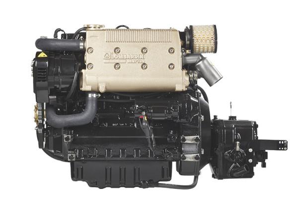 50 hp/36,8 kW Lombardini moottori TMC60 2.5:1 LDW2204M