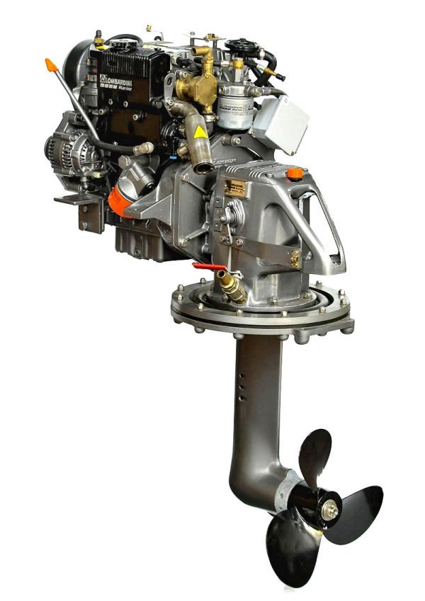 11 hp/8,1 kW Lombardini Sail-Drive, LDW502SD
