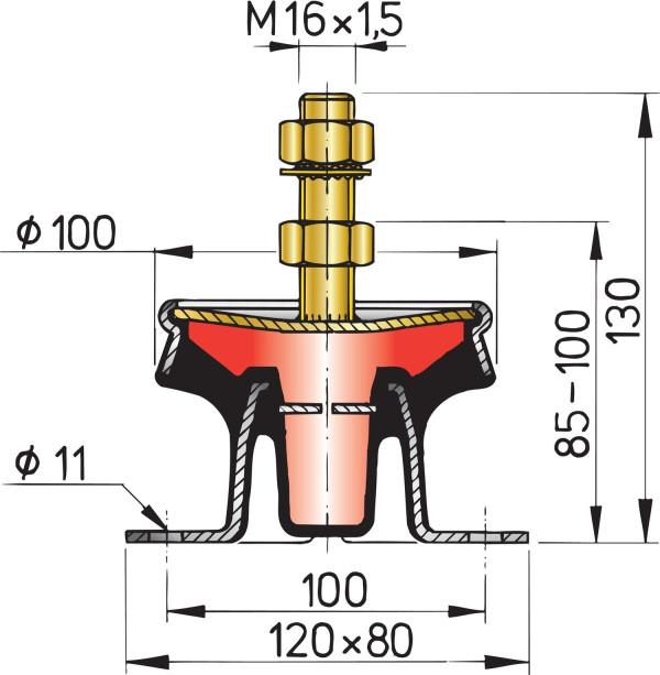 Hydrovaimennin (hinta / kpl)