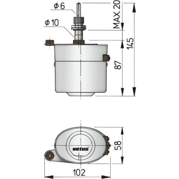 Tuulilasinpyyhinsarja 12 V