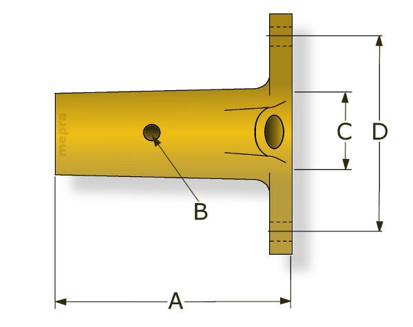 Perälaakeri Ø25 mm  akseli