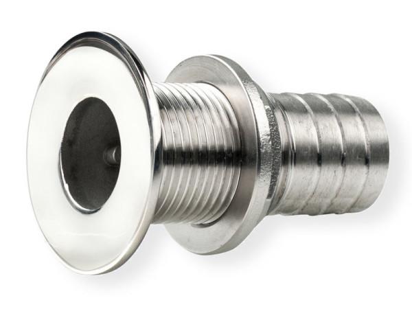 Ø 43 mm läpivienti RST letkukaralla.