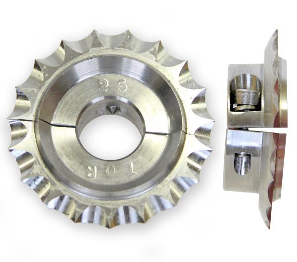 Köysileikkuri,  Ø 25 mm, halkaistu