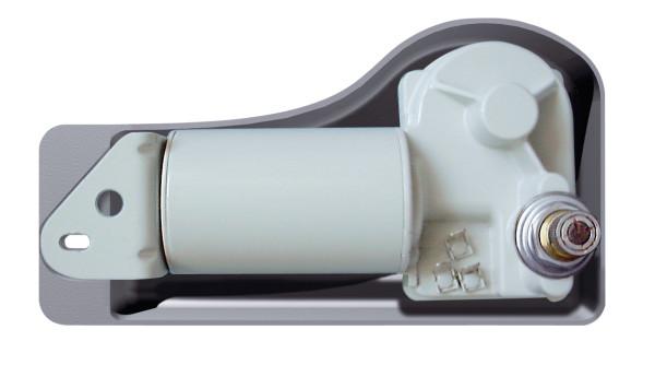 Tuulilasinpyyhkijän moottorin suoja Vetus