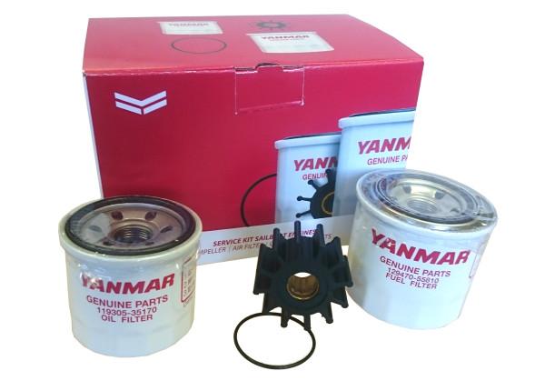 Huoltosarja 3JH3E, 3JH4E Yanmar moottorille