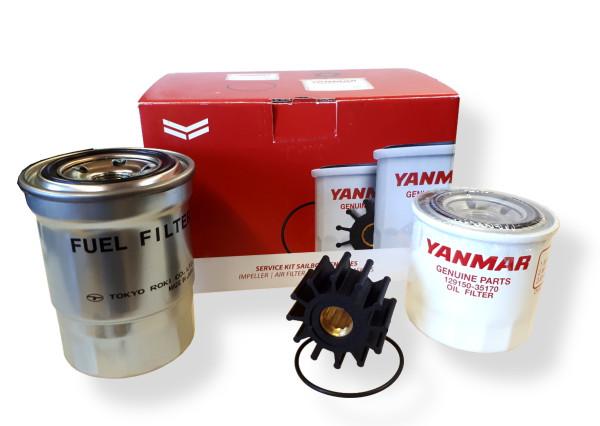 Huoltosarja 4JH3 Yanmar moottorille