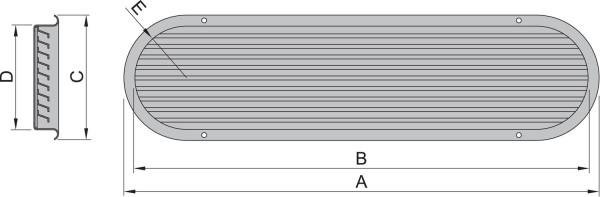 Imuilmaventtiili malli 100, AISI 316 (ilman dorade