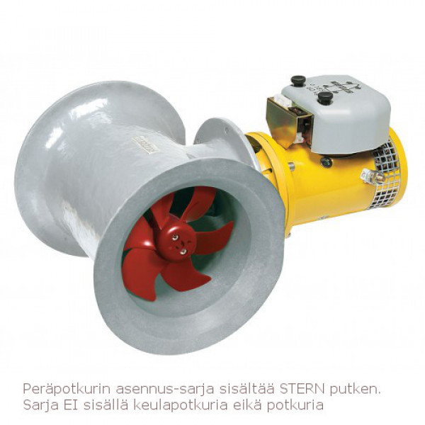Peräpotkurin asennussarja Ø 250 mm