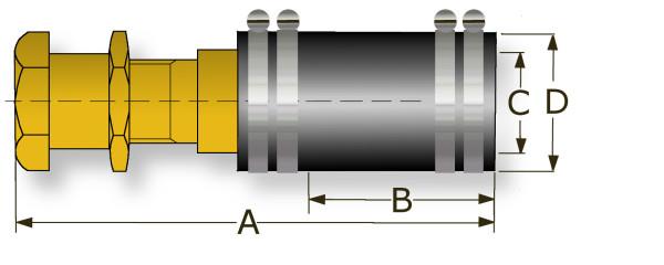 Ø 50 mm Joustava talipoksi