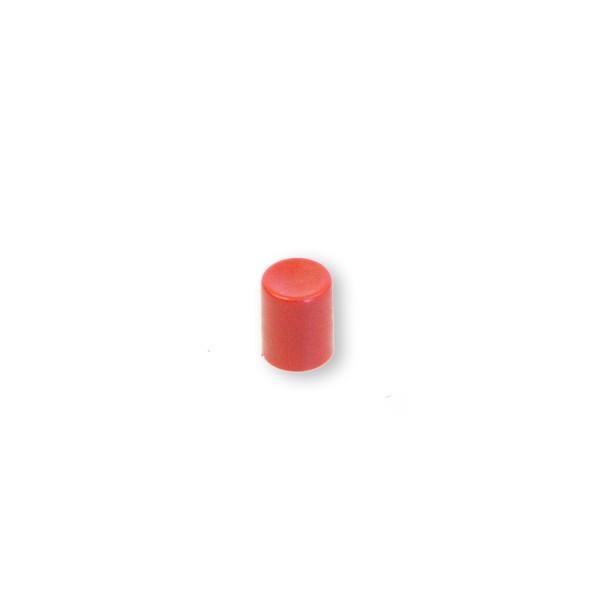 Kahvapainike punainen pyöreä