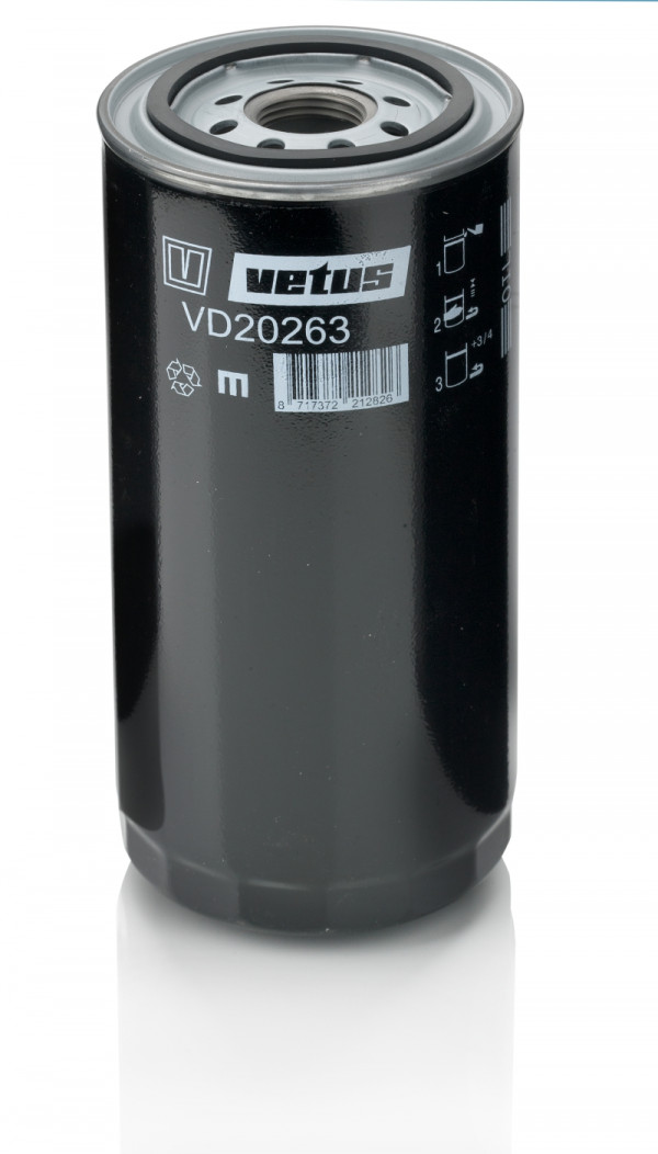 VD20263 öljynsuodatin DT(A)64-66-67