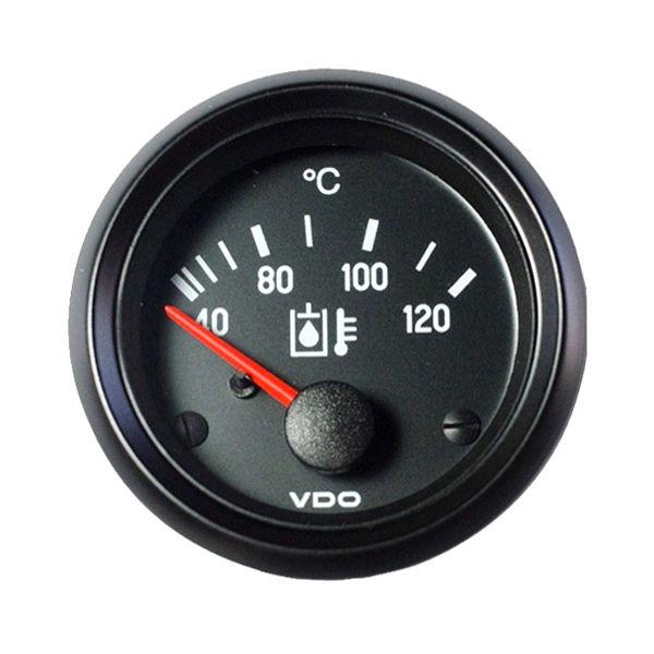 VDO Lämpömittari 40-120 C Ø52 mm