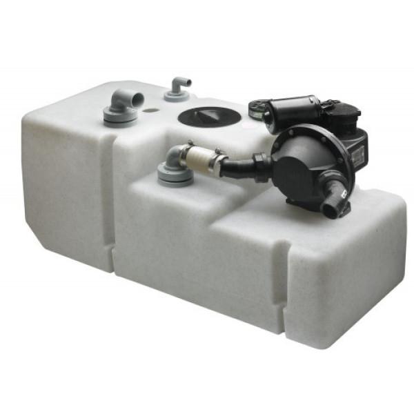 Septitankkijärjestelmä 120 l:n tankki, 24 V pumpul