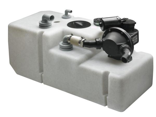 Septitankkijärjestelmä 61 l:n tankki, 24 V pumpull